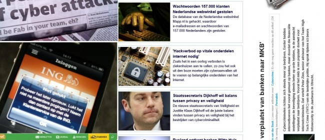 cyber attacks krantenkoppen
