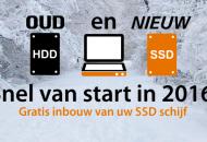 SSD Oud en Nieuw actie